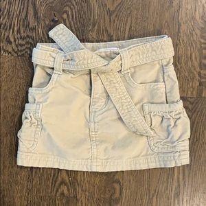 Old Navy girls khaki skirt